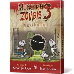 Munchkin Zombis 3: Refugios Repulsivos (Spanish)