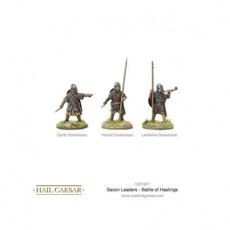 Saxon Leaders Battle of Hastings