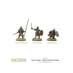 Saxon Leaders Battle of Stamford Bridge