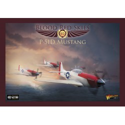 US P-51 Mustang Squadron, 6 Planes