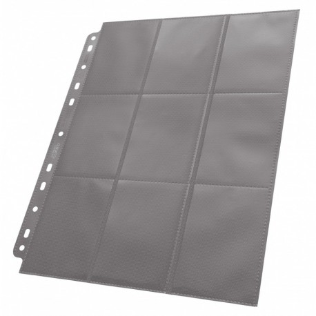 Ultimate Guard 18-pocket Pages Side-loading Grey (1)