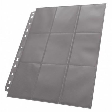 Ultimate Guard 18-Pocket Pages Side-Loading Gris (1)