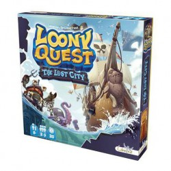 Loony Quest Expansión: The Lost City