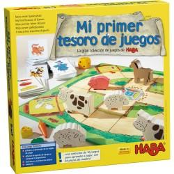 Mi Primer Tesoro de Juegos La Gran Colección de Juegos de Haba (Spanish)