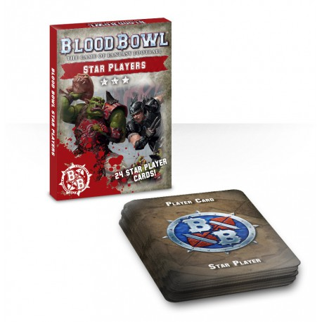 Blood Bowl: Star Players Card Deck (Inglés)