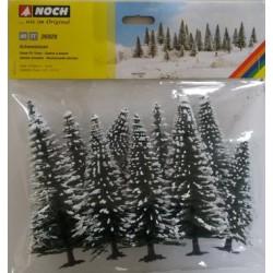 Snowy Fir Trees (10)