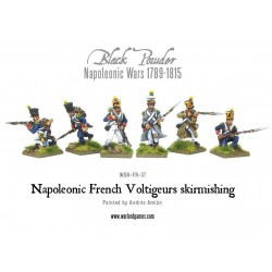 Napoleonic French Voltiguers Skirmishing