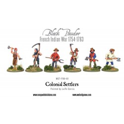 French Indian War - Colonial Settlers