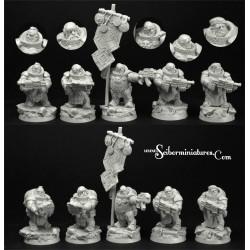 28mm/30mm Dwarves Marines Set 2 (5)