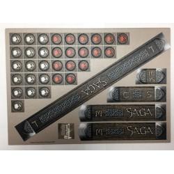 Saga Cardboard Measuring Sticks & Tokens Set