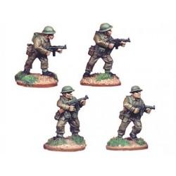 "British Paratrooper 3"" Mortar & 3 Crew"