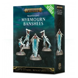 Easy to Build: Nighthaunt Myrmourn Banshees (4)