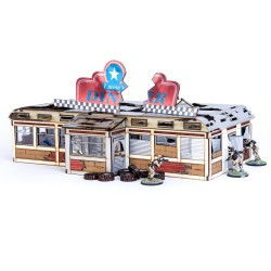 Damaged Emma's Diner