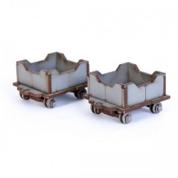 Industrial Hopper Carts