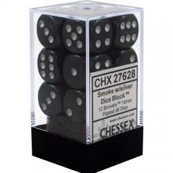 Borealis Smoke w/silver 16mm