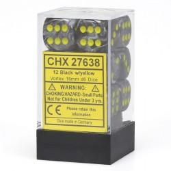 Vortex Black w/yellow 16mm
