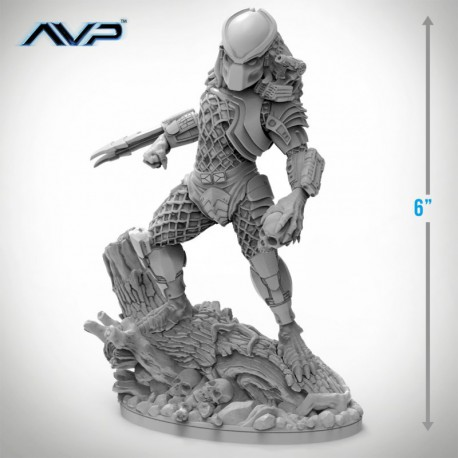 "Predator Jungle Hunter Statue 6"" Tall (75mm)"