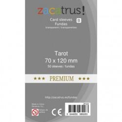 Fundas Tarot Premium - 70x120mm (50)