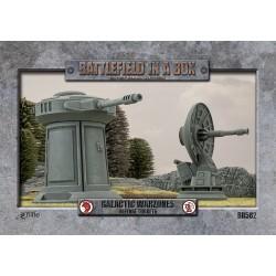 Galactic Warzones - Defense Turrets (x2) (Prepintado)