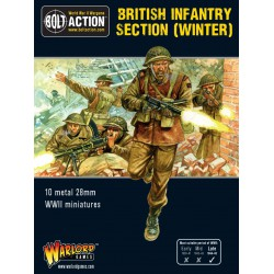British Infantry section (Winter)