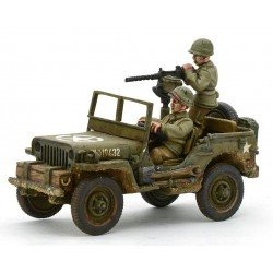 US Army Jeep with 30 Cal MMG