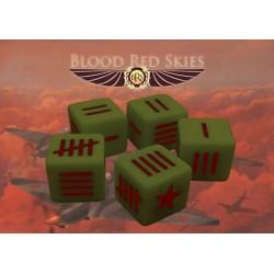 Soviet Blood Red Skies Dice