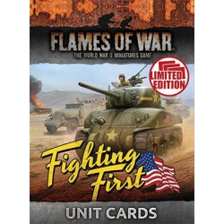 MID WAR Fighting First Unit Cards