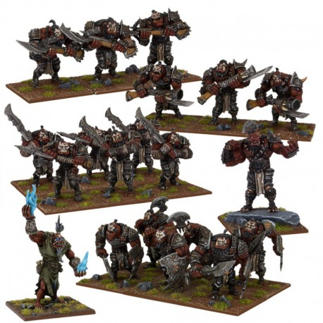 Ogre Army (Re-package & Re-spec)