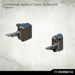 Legionary Assault Tank Sponsons: Lascannons (1)