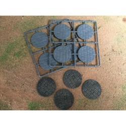 40mm Diameter Paved Bases