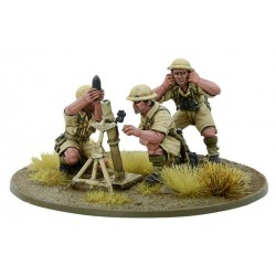 8th Army Medium Mortar Team