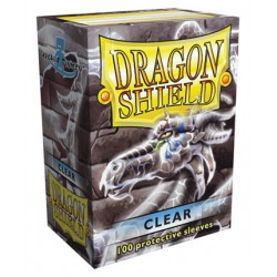Fundas Dragon Shield: Transparente (100)