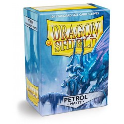 Dragon Shield Sleeves: Petrol Matte (100)
