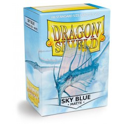 Dragon Shield Sleeves: Sky Blue Matte (100)