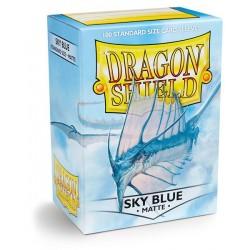 Dragon Shield Sleeves: Sky Blue Matte (100)