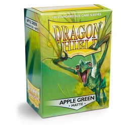 Dragon Shield Sleeves: Apple Green Matte (100)