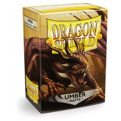 Dragon Shield Sleeves: Umber Matte (100)
