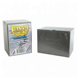Caja de Cartas Dragon Shield Gaming Box Silver