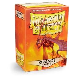 Fundas Dragon Shield: Orange Matte (100)