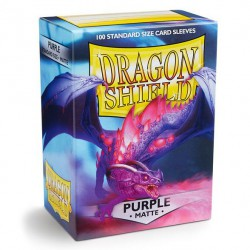 Dragon Shield Sleeves: Purple Matte (100)