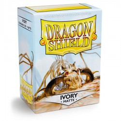 Dragon Shield Sleeves: Ivory Matte (100)