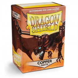 Dragon Shield Sleeves: Copper Matte (100)