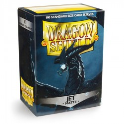 Dragon Shield Sleeves: Jet Matte (100)