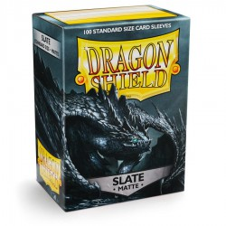 Dragon Shield Sleeves: Slate Matte (100)