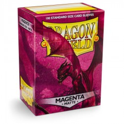 Fundas Dragon Shield: Magenta Matte (100)