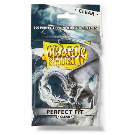 Dragon Shield Sleeves: Perfect Fit Clear (100)
