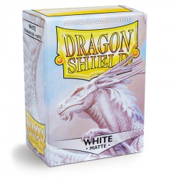 Dragon Shield Sleeves: White Matte (100)