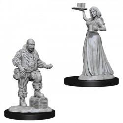 Merchants (Serving Girl and Merchant) - Pathfinder Deep Cuts