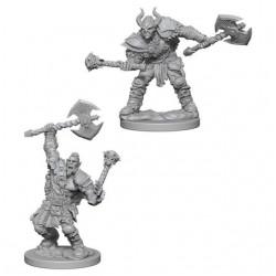 Half-Orc Male Barbarian - Pathfinder Deep Cuts