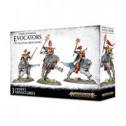 Stormcast Eternals Evocators on Celestial Dracolines (3)